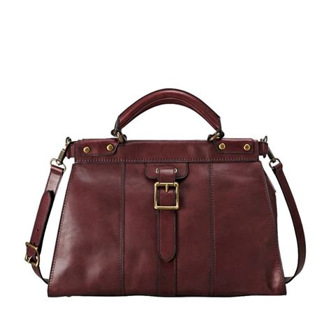 Fossil Replika Multired Shopper fossil vintage revival satchel my style