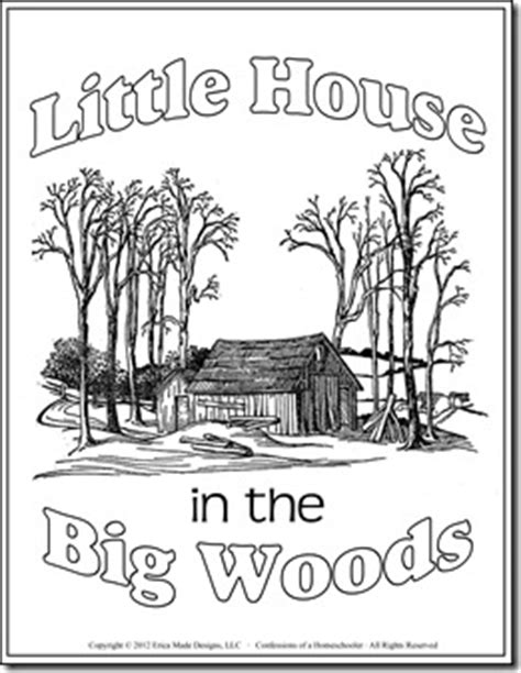 little house in the big woods unit study confessions of