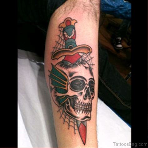 skull and dagger tattoo 103 marvelous dagger tattoos on arm