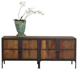 Metal Buffet Table Hyderabad Reclaimed Wood Metal Buffet Industrial