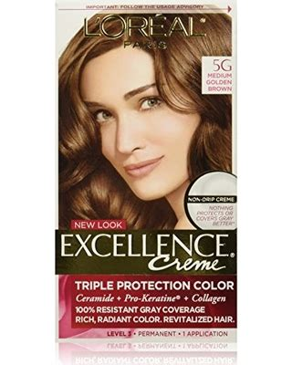 l oreal excellence creme permanent hair color medium 8 1 74 oz walmart find the best savings on l or 233 al excellence cr 233 me permanent hair color 5g medium golden brown