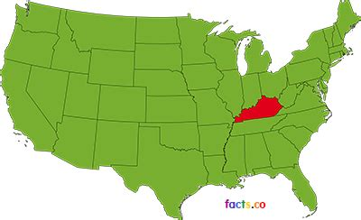 kentucky map facts kentucky