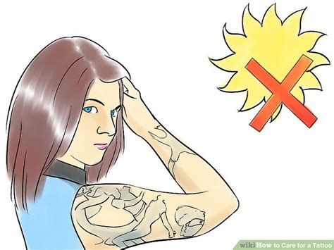 how long to keep tattoo wrapped how to care for a with pictures wikihow