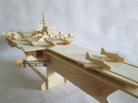 Handmade Planes - diy 3d puzzle child intelligence toys handmade ship model