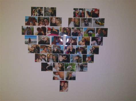 Comment Faire Un Coeur Avec Des Photos by Diy D 233 Co Photos En Coeur