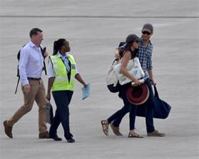 meghan markel and prince harry prince harry and girlfriend meghan markle arrive southern africa for birthday safari bellanaija