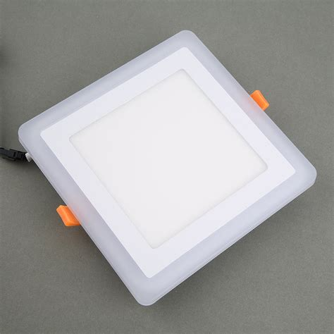 Ceiling Panel Lights New Fashion Led Recessed Light Panel L Ceiling Lights Cool Warm White Bg Ebay