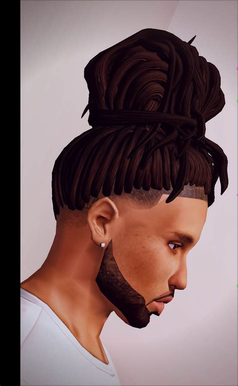 sims 4 dreads cc eerie french kiss sims 3 cc hairstyles pinterest