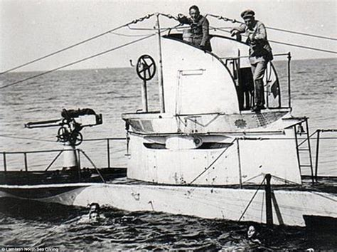 u boat aces ww1 divers find wreckage of german world war one submarine off