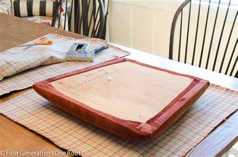 Reupholstering Dining Room Chairs how to reupholster a dining chair four generations one roof