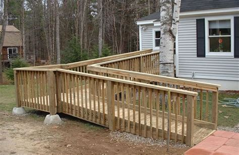 Floor Plans For Handicap Accessible Homes wheelchair ramp builder wheelchair ramp construction