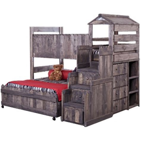 Clubhouse Bed by Trendwood Fort Clubhouse Bed Sets Bunk Bed Loft Bed