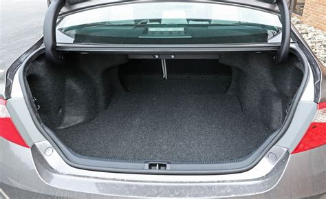 Toyota Camry Trunk Dimensions Toyota Camry Hybrid Trunk