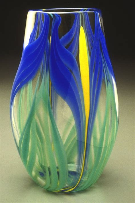 Iris Vase by Iris Vase Glass