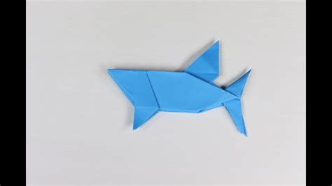 How To Make A Shark Out Of Paper - origami shark how to make a paper origami shark cool