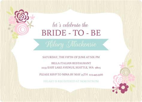 bridal shower background frame floral woodgrain background bridal shower invitation