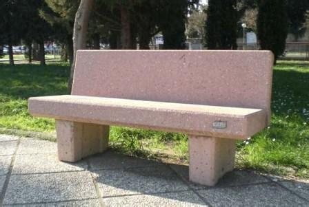 panchine in cemento prezzi panchina con schienale in cemento cm 240 icem s r l