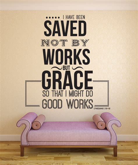 ephesians 2 9 10 i have bible verse wall decal quotes