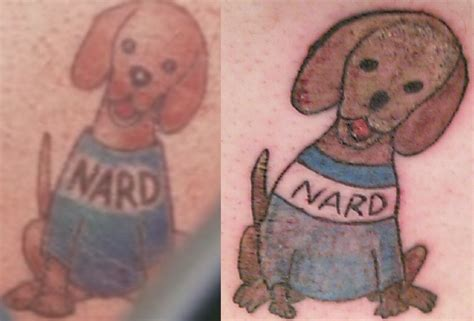 nard dog tattoo newest edition to my fan leg the nard dundermifflin