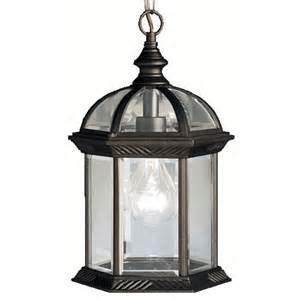 outdoor pendant lighting modern kichler modern outdoor hanging light in black finish