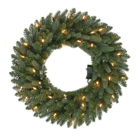 24 in pre lit b o led new meadow artificial christmas