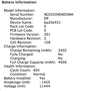 reset laptop battery cycle count my macbook pro is alive