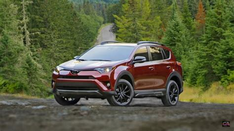 Toyota Rav 4 Road 2018 Toyota Rav4 Review Ready For An Road Adventure