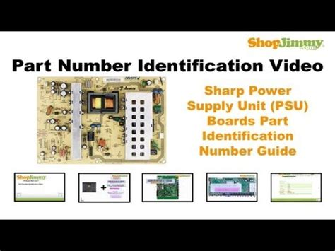 Power Supply Powersupply Regulator Led Tv Sharp Aquos Lc 50le450m diy tv part number identification guide for sharp power supply unit psu boards how to save