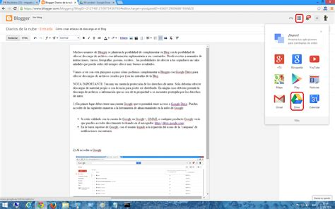 imagenes google nube c 243 mo crear enlaces para descargar archivos en blogger