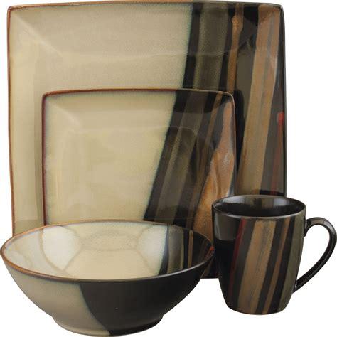 sango avanti black 16 pc dinnerware set dinnerware sets