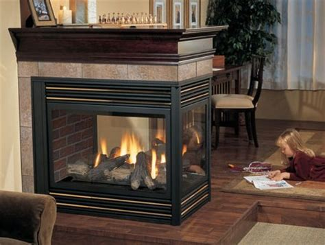 regency p131 three sided gas fireplace