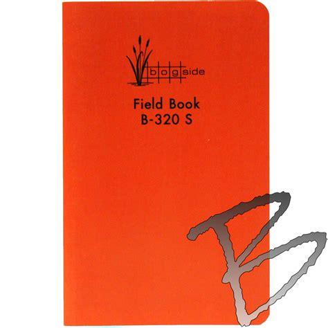 survey field book template bogside publishing sewn field book field books paper