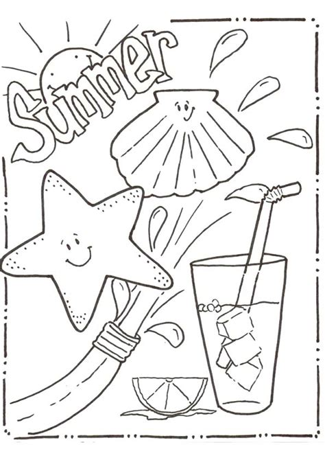 free summer coloring pages summer coloring pages for print them all for free