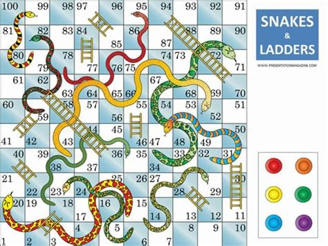 snakes and ladders template pdf snakes and ladders board