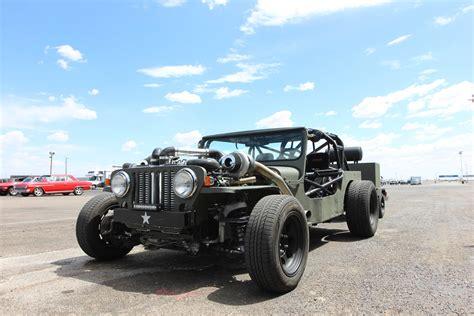 Hotrod Jeep Turbo Jeep Rat Rod Deathtrap At Drag Weekend West