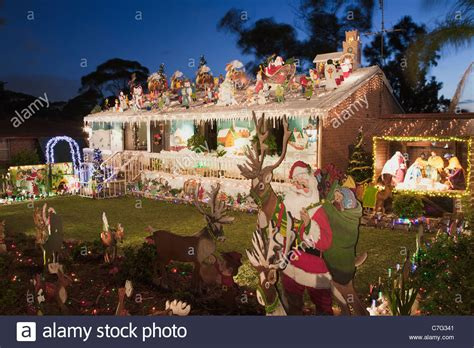 australian house christmas lights decorations sydney