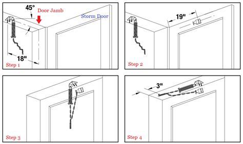 Door Chain Installation how to install ft glass door retenion the