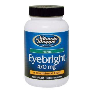Vitamin Eye Bright The Vitamin Shoppe Eyebright 470 Mg 100 Capsules