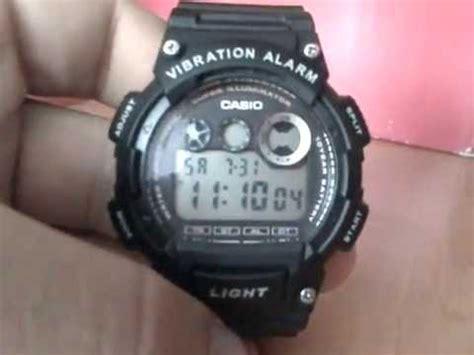 Casio W735h casio w735h 1av8 vibration alarm