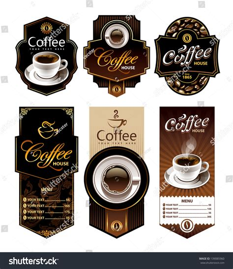 banner design coffee shop restaurant menu stock vector 699560560 coffee design banners menu and brand labels templates