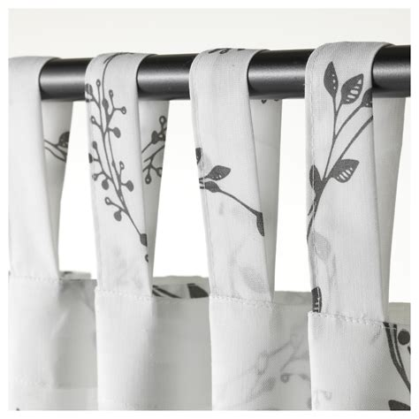 ikea best products 2016 vinter 2016 curtains 1 pair white light grey 145x300 cm