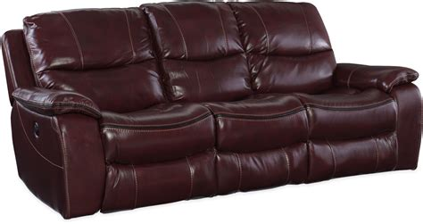 red leather reclining sofa gregory red power reclining sofa ss624 p3 069 hooker