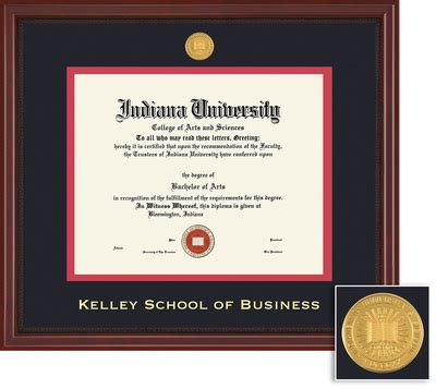 Iu Kelley School Of Business Mba by Indiana Bloomington Bookstore Framing Success