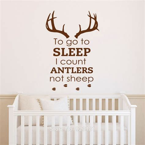 count antlers wall decal wall 25 best ideas about deer themed nursery on