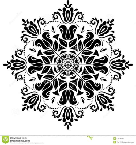 oriental arabesque pattern vector free orient vector pattern abstract background stock vector