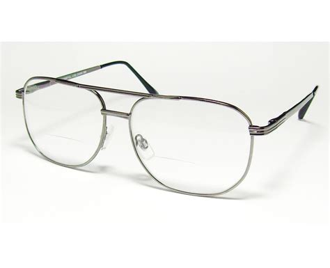 bifocal reading glasses aviator readers clear lens 1 50 2