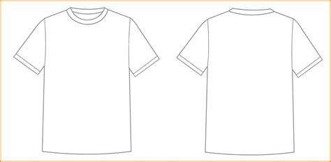 shirt outline template online calendar templates