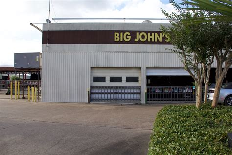 Big Johns Garage by Letting The City In Icehouses In Houston Offcite