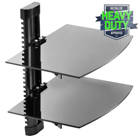 Floating Shelf For Tv Components by 2 Shelf Floating Wall Mount Dvd Tv Component Av Console