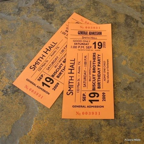 concert ticket templates cards concert ticket invitation ridge light ranch